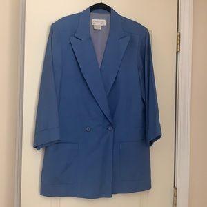Vintage Christian Dior The Suit Linen Blazer 8
